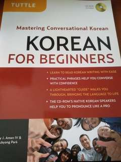 Tuttle Conversational Korean for beginners