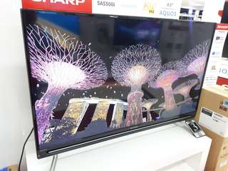 Led TV SHARP 40 Inch Smart Tv (Kredit MURAH)