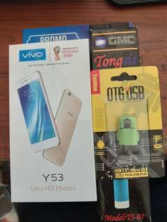 Vivo y53 free tongsis dan otg