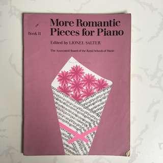 Piano Scores: More Romantic Pieces for Piano (Book II)