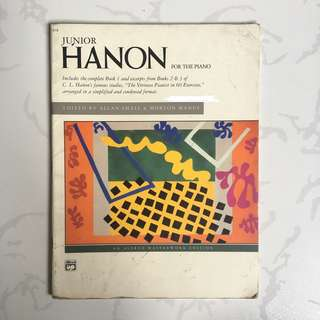 Piano Scores: Junior Hanon for the Piano
