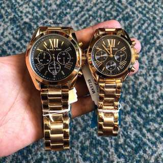MK His and Hers Watches Set