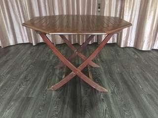 Table @ Meja makan kayu