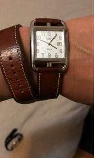 Hermès cape cod watch  29x29cm unisex Automatic