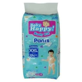 Baby Happy Pants XXL 24