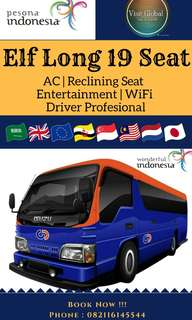 ELF Long 19 Seat (City Tour Bandung - Drop Airport Soetta)
