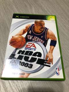 Xbox NBA 2003