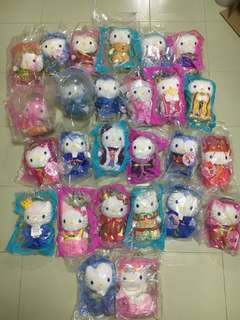 Mcdonald's Hello Kitty Plush Toys