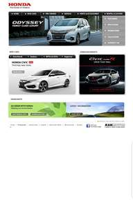 Additional  $500 off for any Honda car from Kah motor