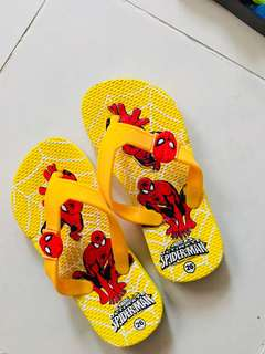 Spiderman slippers for kids 1-2 yrs old