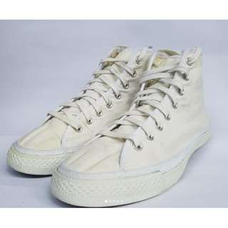 Converse Hi White Full Canfas