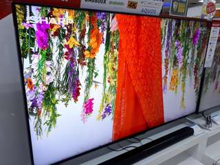 Led TV SHARP 60 Inch 4K Android Tv (Kredit MURAH)