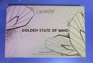 ColourPop Golden State of Mind Shadow Palette