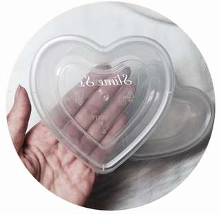 heart-shape containers!