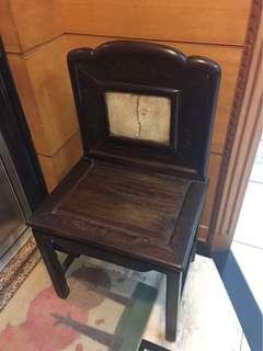 清 酸枝 雲石太師椅 完整 穩固 收藏級