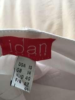Joan sports stretchy pants