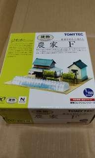 全新現貨 Tomytec  農家F 種植 火車鐵道模型 情景小物 N比例 1/150 (not Tomix Kato)