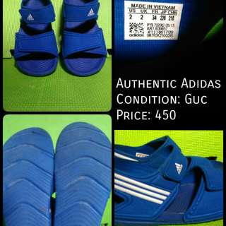 Authentic Adidas Sandals Guc Price:450 Steal: With Your Price ❎ No Deletion Of Comment ❎ No Cancellation Of Order
