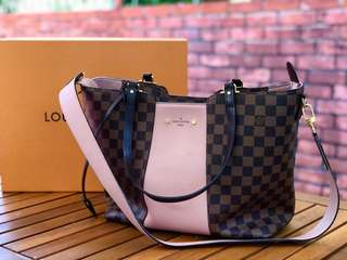 Authentic Louis Vuitton Jersey Handbag