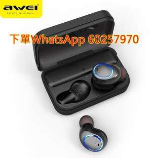 AWEI T3 真無線藍牙耳機