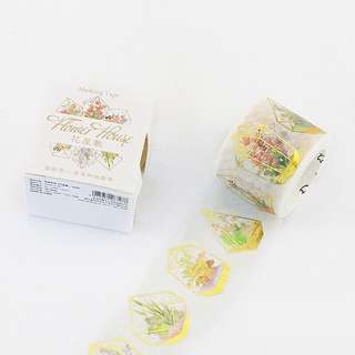 [IN] [WT] Flower House: Terrarium Washi Tape (30mm)