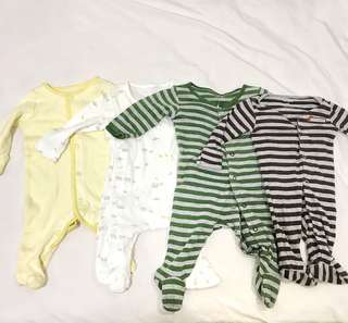 Carters sleepsuit bundle