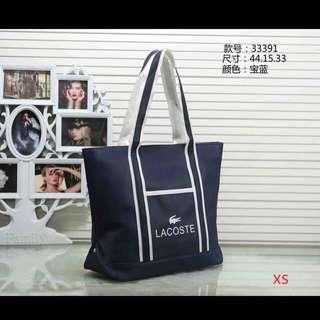 Lacoste bag pre order 750 plu sf COd