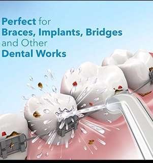 Dentalski® Professional Water Flosser Oral Irrigator DS-600 with 5 Jet Tips