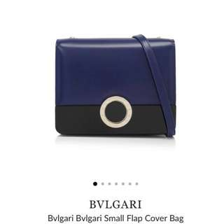 Bvlgari Small Flap Cover Bag