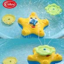 CIKOO STARFISH BABY BATH TOY INDOOR & OUTDOOR (SQUIRTS & FLOATS)