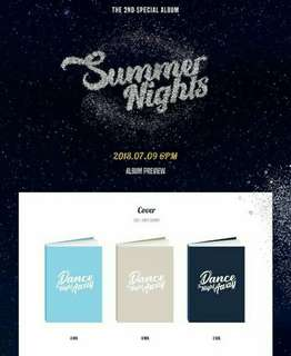 TWICE SUMMER NIGHT ALBUM