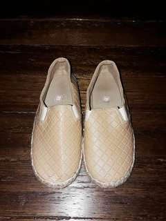 Unisex Leather Espadrilles (for Kids)