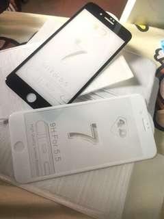 iPhone 7+ 屏蔽保護貼 4D圓邊 超fit位 $30/張