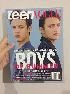 Teen Vogue Magazine (June/July 2016)