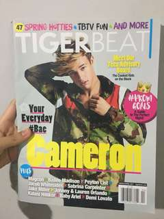2017 TIGER BEAT Cameron Dallas Magazine
