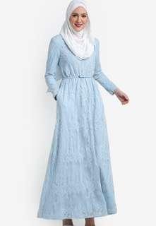 (REDUCED PRICE ⚡⚡)ZALIA EMBELISHED LACE DRESS