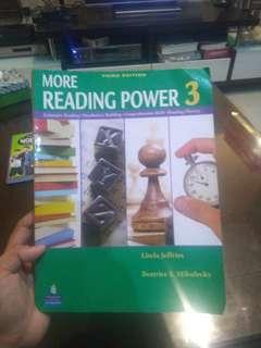 More Reading Power 3     buku belajar bahasa inggris