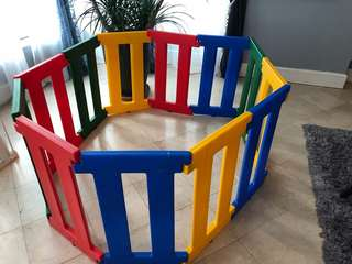 Baby gate 2 sets, 12 pcs