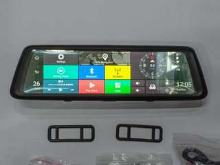 10 inch full screen android dashcam