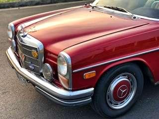 Mercedes-Benz W114 古董車 稀有兩門 有牌