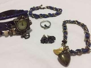 Blue Jewelry Bundle