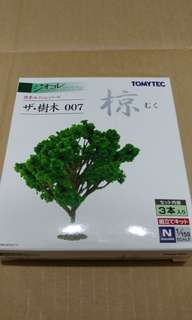 全新現貨 Tomytec  007 椋樹 情景小物 N比例 1/150 (not Tomix Kato)