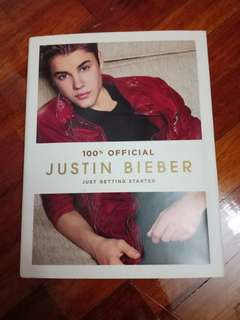 100 % Official Justin Bieber Just Getting Started