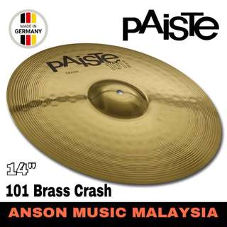 "Paiste 101 Brass Crash 14"""