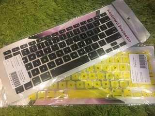 🚚 轉賣 筆電 蘋果air 鍵盤膜 一個80 兩個150