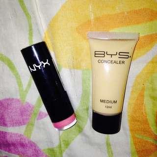 Nyx Lipstick and Concealer Bundle