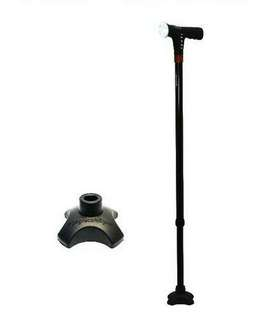 🚚 Smart Walking Stick With Auto Fall Alarm, Light And MP3