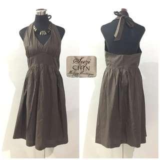 halter dress L-XL