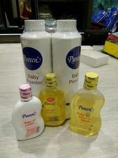 🆕Pureen Powder, Shampoo, Body Wash, Lotion