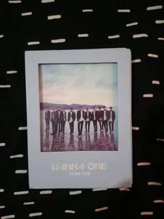[WTS] WANNA ONE 1X1=1 TO BE ONE ALBUM GUANLIN COVER SUNGWOON PHOTOCARD